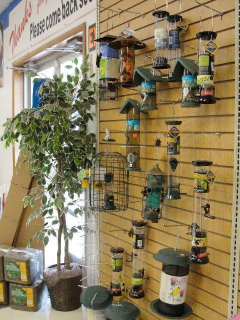 Bird Feeder Display